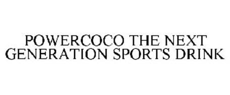 POWERCOCO THE NEXT GENERATION SPORTS DRINK
