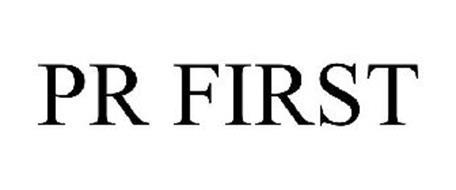 PR FIRST