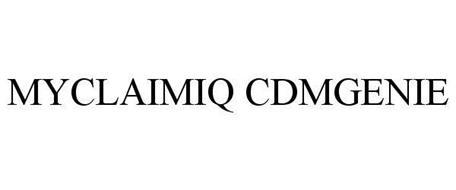 MYCLAIMIQ CDMGENIE