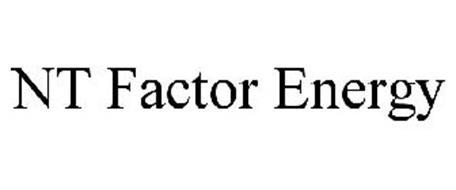 NT FACTOR ENERGY