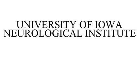 UNIVERSITY OF IOWA NEUROLOGICAL INSTITUTE
