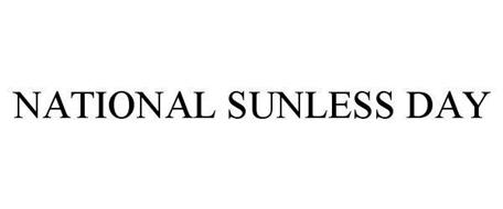 NATIONAL SUNLESS DAY