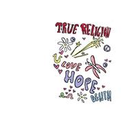 U TRUE RELIGION LOVE HOPE DENIM