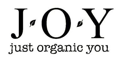 J O Y JUST ORGANIC YOU