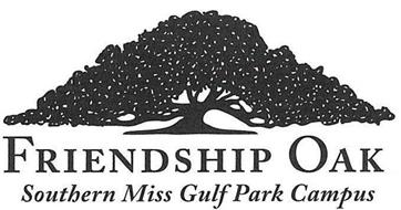FRIENDSHIP OAK SOUTHERN MISS GULF PARK CAMPUS