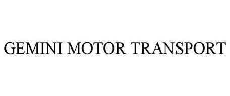GEMINI MOTOR TRANSPORT