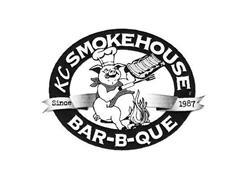 KC SMOKEHOUSE BAR-B-QUE SINCE 1987