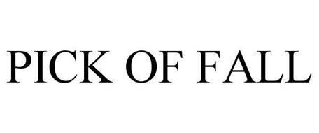 PICK OF FALL