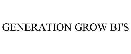 GENERATION GROW BJ'S
