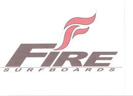 F FIRE SURFBOARDS