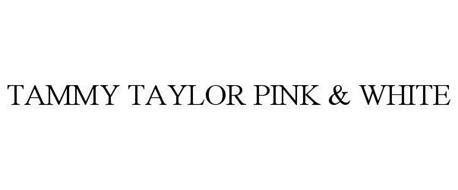 TAMMY TAYLOR PINK & WHITE
