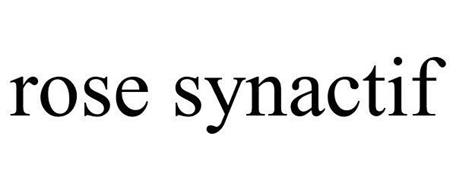 ROSE SYNACTIF