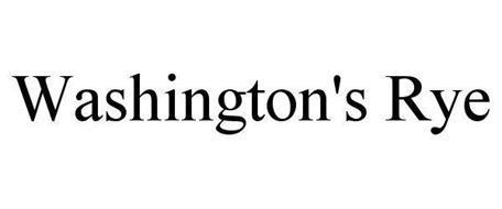 WASHINGTON'S RYE