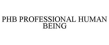 PHB PROFESSIONAL HUMAN BEING