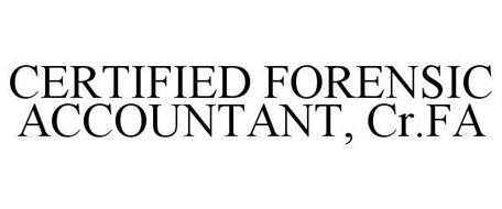 CERTIFIED FORENSIC ACCOUNTANT, CR.FA