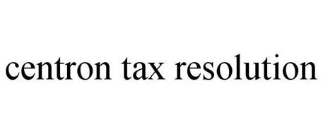 CENTRON TAX RESOLUTION