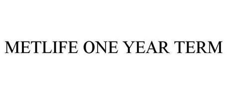 METLIFE ONE YEAR TERM