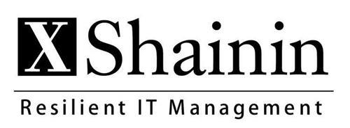 X SHAININ RESILIENT IT MANAGEMENT