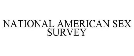 NATIONAL AMERICAN SEX SURVEY