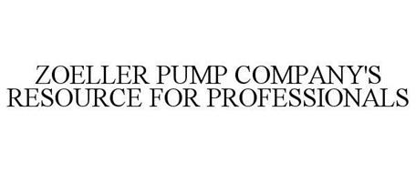 ZOELLER PUMP COMPANY'S RESOURCE FOR PROFESSIONALS