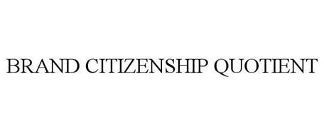 BRAND CITIZENSHIP QUOTIENT