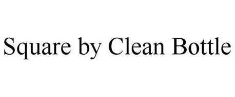 SQUARE BY CLEAN BOTTLE