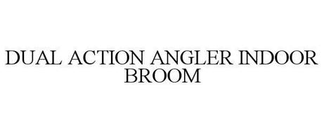 DUAL ACTION ANGLER INDOOR BROOM