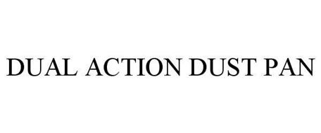 DUAL ACTION DUST PAN
