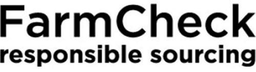 FARMCHECK RESPONSIBLE SOURCING