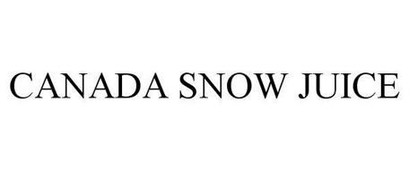 CANADA SNOW JUICE