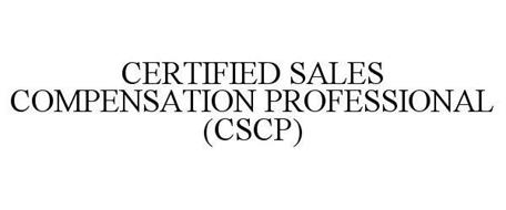 CERTIFIED SALES COMPENSATION PROFESSIONAL (CSCP)
