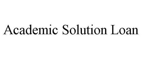 ACADEMIC SOLUTION LOAN