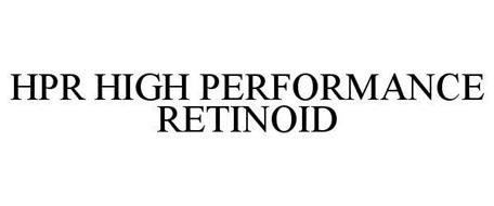 HPR HIGH PERFORMANCE RETINOID