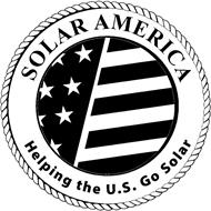SOLAR AMERICA HELPING THE U.S. GO SOLAR