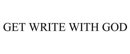 GET WRITE WITH GOD