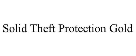 SOLID THEFT PROTECTION GOLD