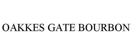 OAKKES GATE BOURBON