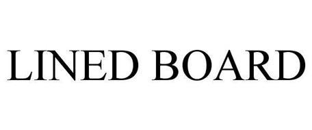 LINED BOARD
