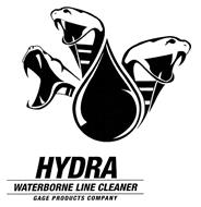 HYDRA WATERBORNE LINE CLEANER GAGE PRODUCTS COMPANY