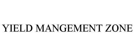 YIELD MANGEMENT ZONE