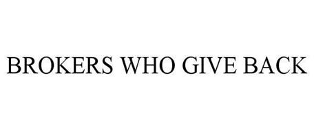 BROKERS WHO GIVE BACK