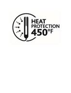 HEAT PROTECTION 450º F