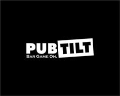 PUB TILT BAR GAME ON.