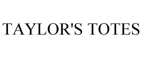 TAYLOR'S TOTES