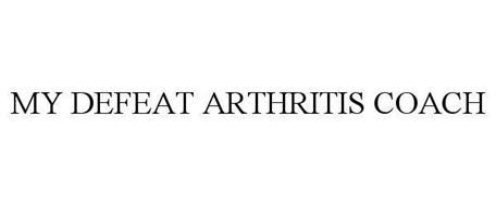 MY DEFEAT ARTHRITIS COACH
