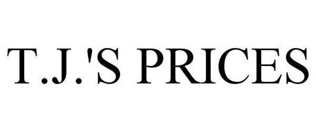 T.J.'S PRICES