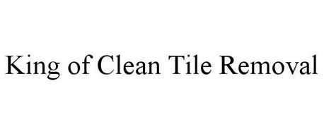 KING OF CLEAN TILE REMOVAL