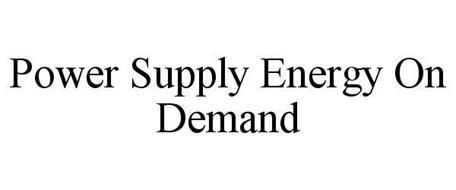 POWER SUPPLY ENERGY ON DEMAND