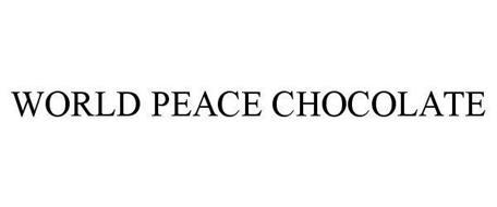 WORLD PEACE CHOCOLATE