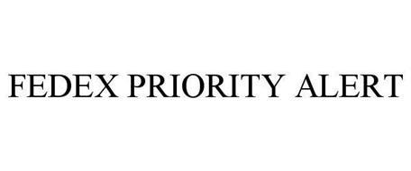 FEDEX PRIORITY ALERT